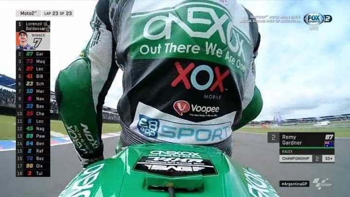 Podium Pertama Pasukan OneXOX TKKR SAG Racing Team Di MotoGP