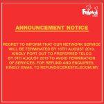 Rangkaian Telco Friendi Akan Ditamatkan Sepenuhnya Pada 15 Ogos 2019